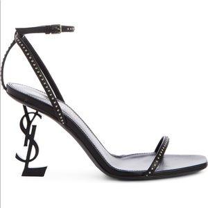 Saint Laurent Opyum Studded Ankle Strap Sandals